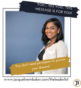 Confidence Coach, Jacqueline M. Baker