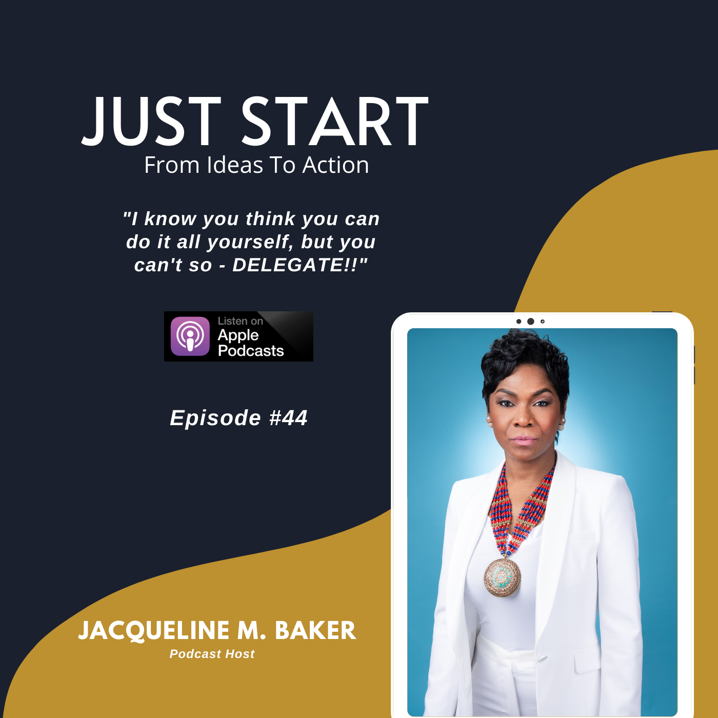Guest Artwork - Just Start Podcast